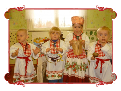 Russian with music for toddlers